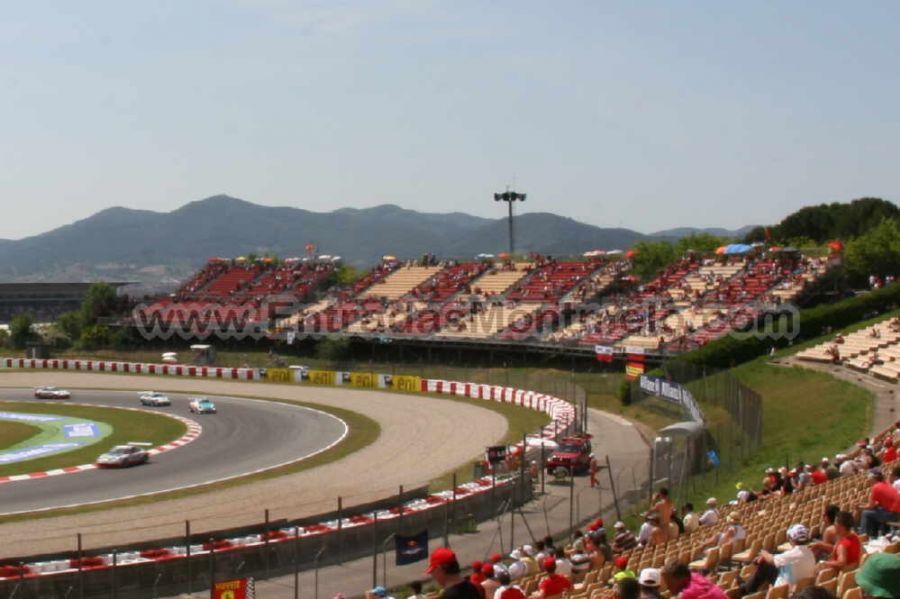Circuito Montmelo : Entrada tribuna b motogp montmelo circuit de catalunya